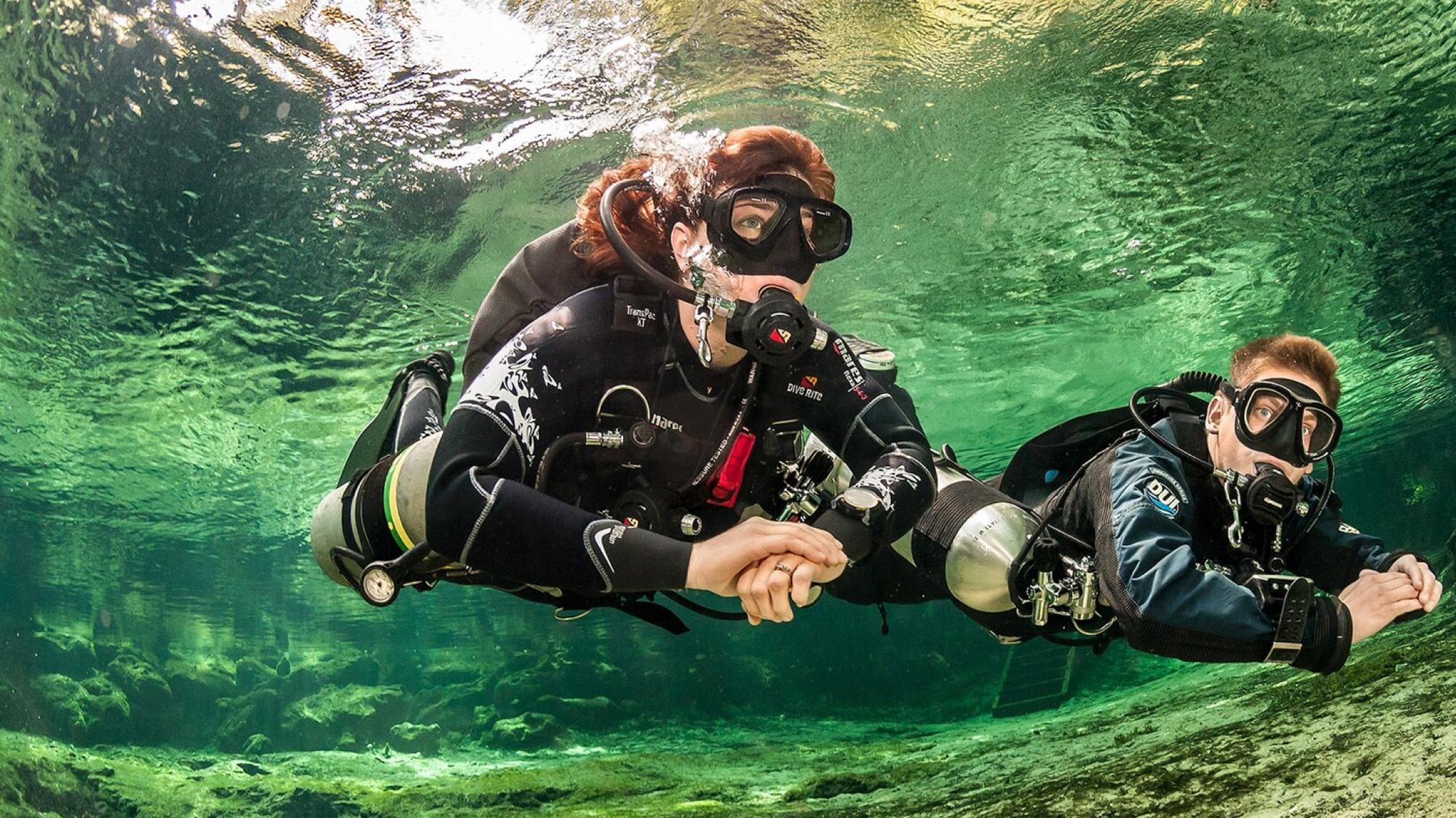 buceo con sidemount